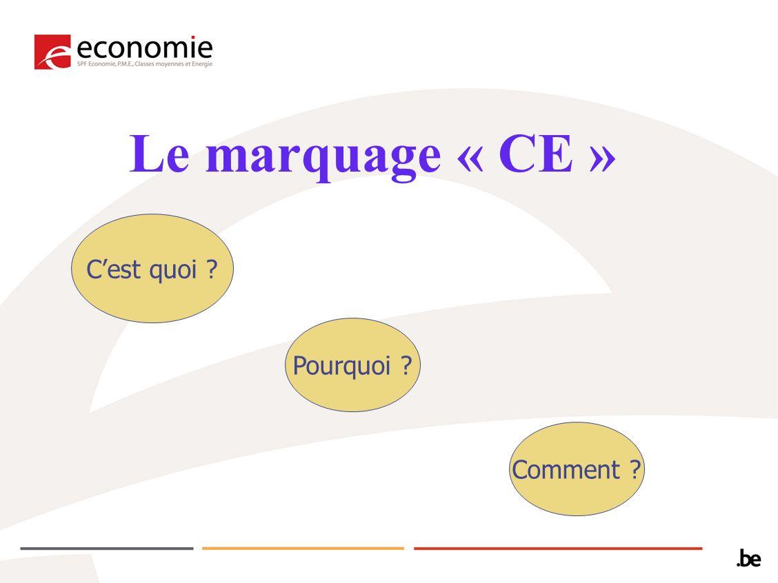 Saïd BELLAJI Service Public Fédéral Economie Direction générale Qualité et Sécurité http://economie.fgov.be