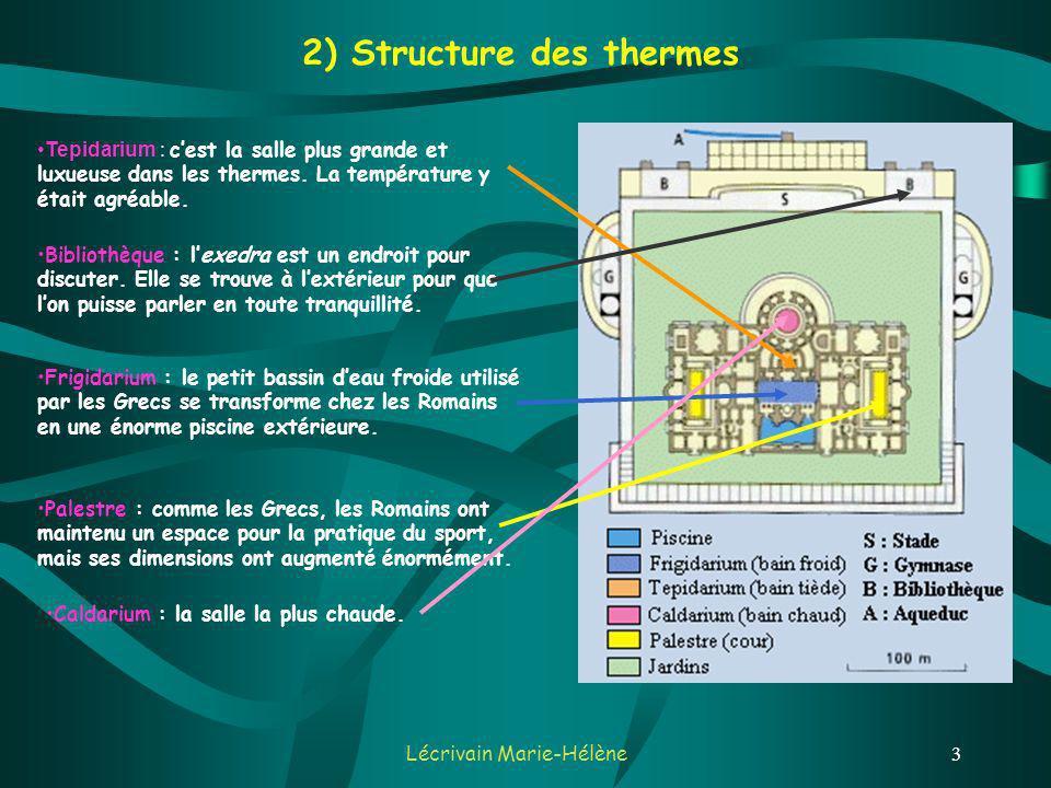 Lécrivain Marie-Hélène3 Bibliothèque : lexedra est un endroit pour discuter.