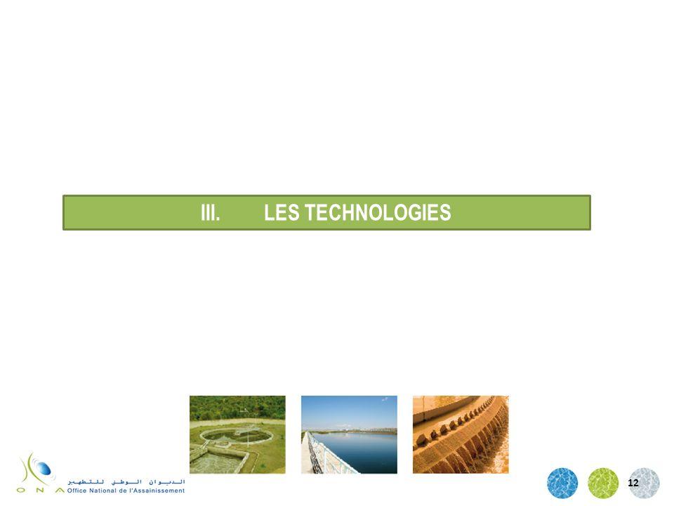 12 III.LES TECHNOLOGIES