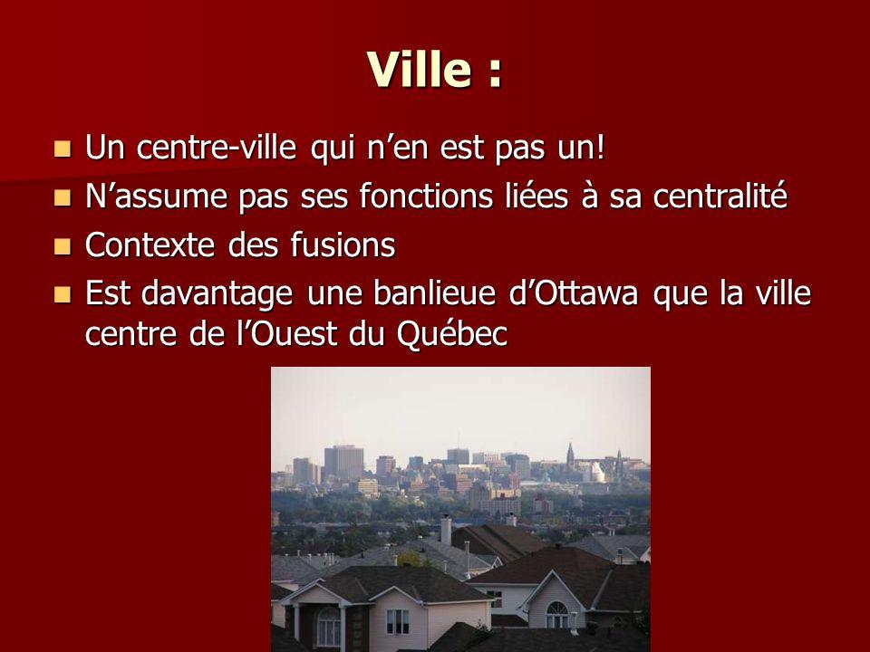 Ville : Un centre-ville qui nen est pas un.Un centre-ville qui nen est pas un.
