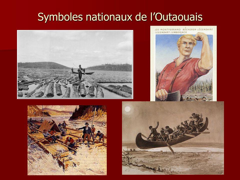 Symboles nationaux de lOutaouais