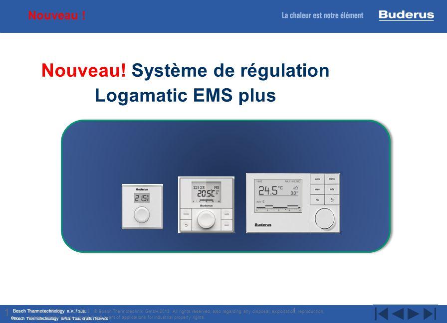 Bosch Thermotechnology n.v. / s.a. Bosch Thermotechnology nv/sa. Tous droits réservés 1 New controller and module generation Buderus Internal | TT/STI