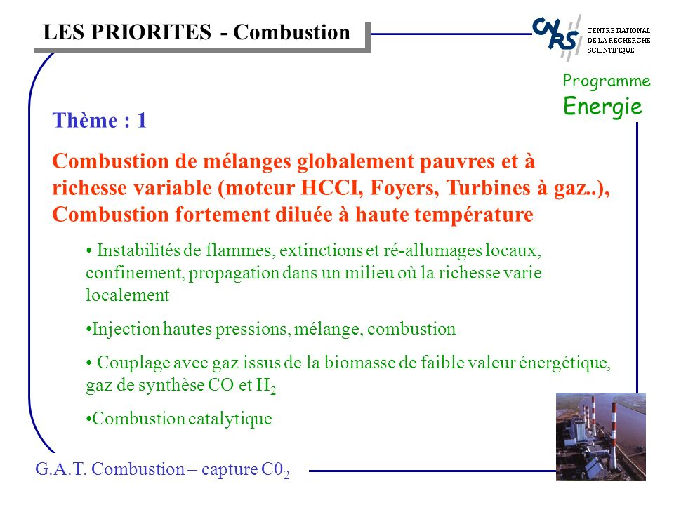 Programme Energie G.A.T.
