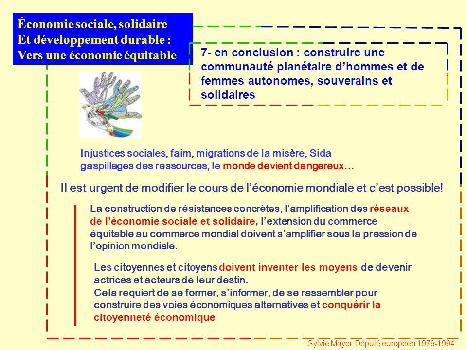 Il est urgent de modifier le cours de léconomie mondiale et cest possible.
