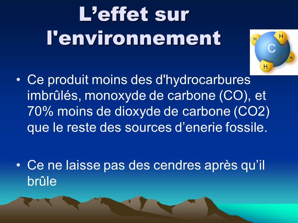 Leffet sur l'environnement Ce produit moins des d'hydrocarbures imbrûlés, monoxyde de carbone (CO), et 70% moins de dioxyde de carbone (CO2) que le re