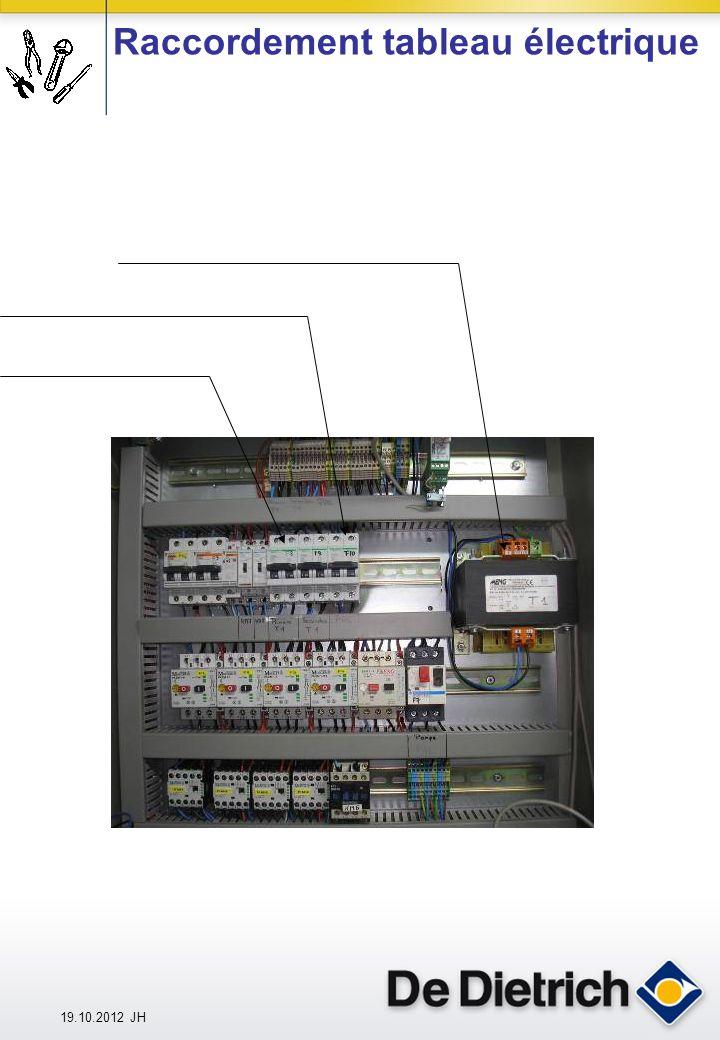 19.10.2012 JH Raccordement tableau électrique