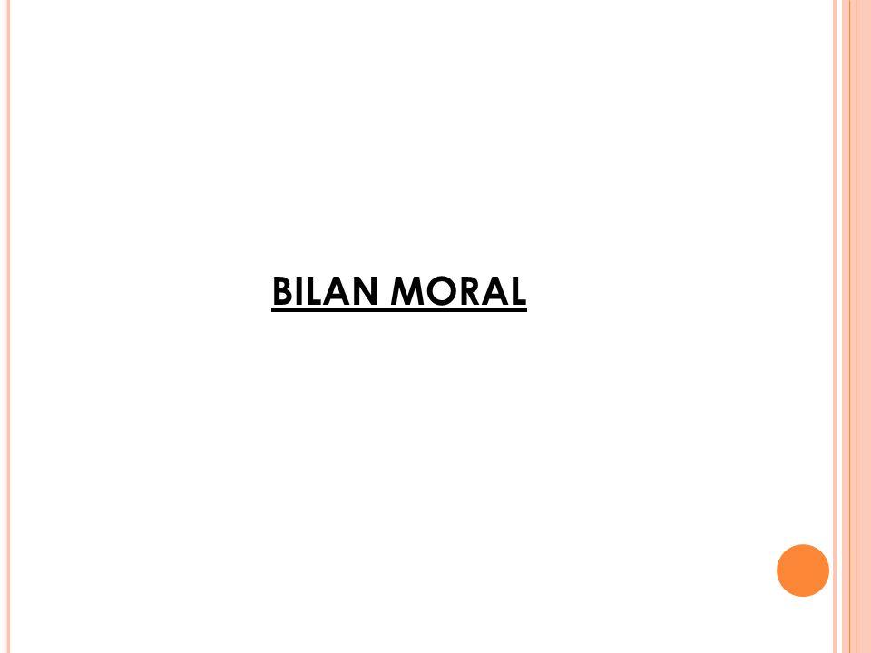 BILAN DACTIVITES