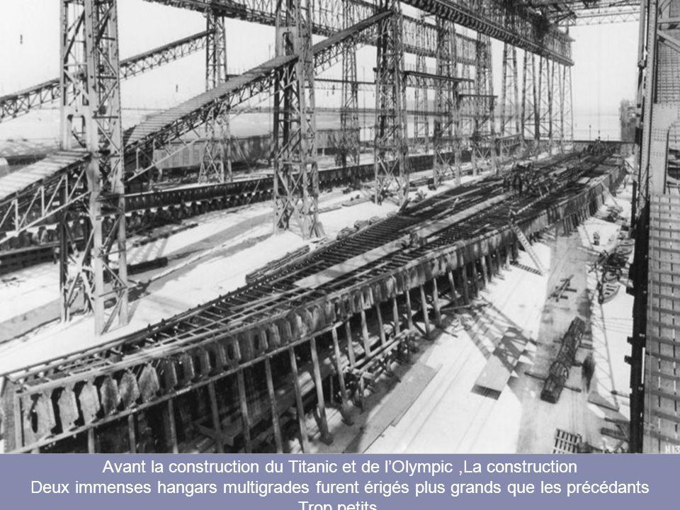 Maquette originale des Titanic et de lOlympic
