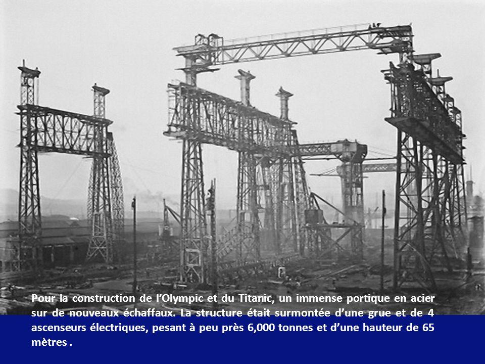 Le 31 Juilliet 1908 fut signé le contrat de construction aux chantiers navals de Belfast, du Olympic et du Titanic puis du troisième bateau le Britani