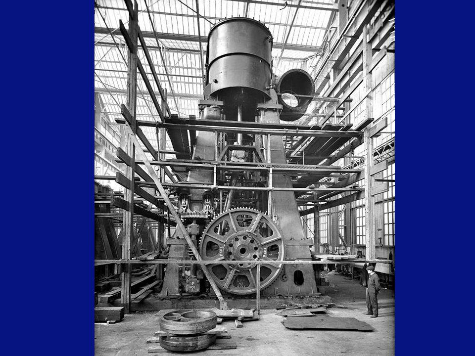 Le compartiment de la turbine.