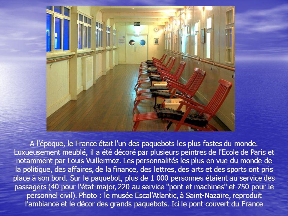 Deux tours du monde seront aussi effectués à bord du France : un en 1972 et un en 1974 (les deux seuls jamais organisés par la Compagnie Générale Tran