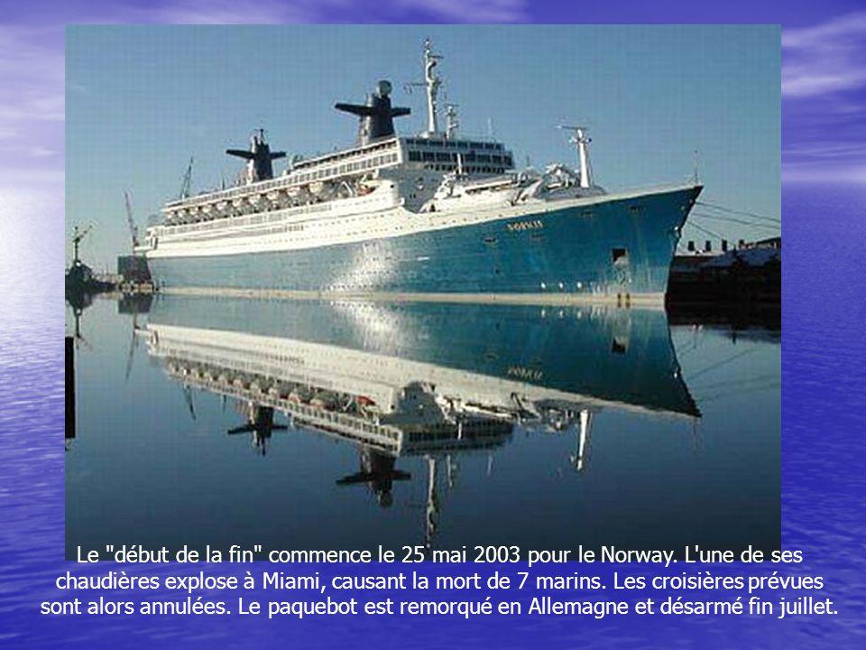 Le Norway fera des réapparitions en France à plusieurs reprises (à l'image, à Marseille en 1998). La plus marquante de ses étapes hexagonales aura lie