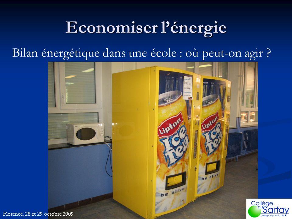 Economiser lénergie Bilan énergétique dans une école : où peut-on agir .