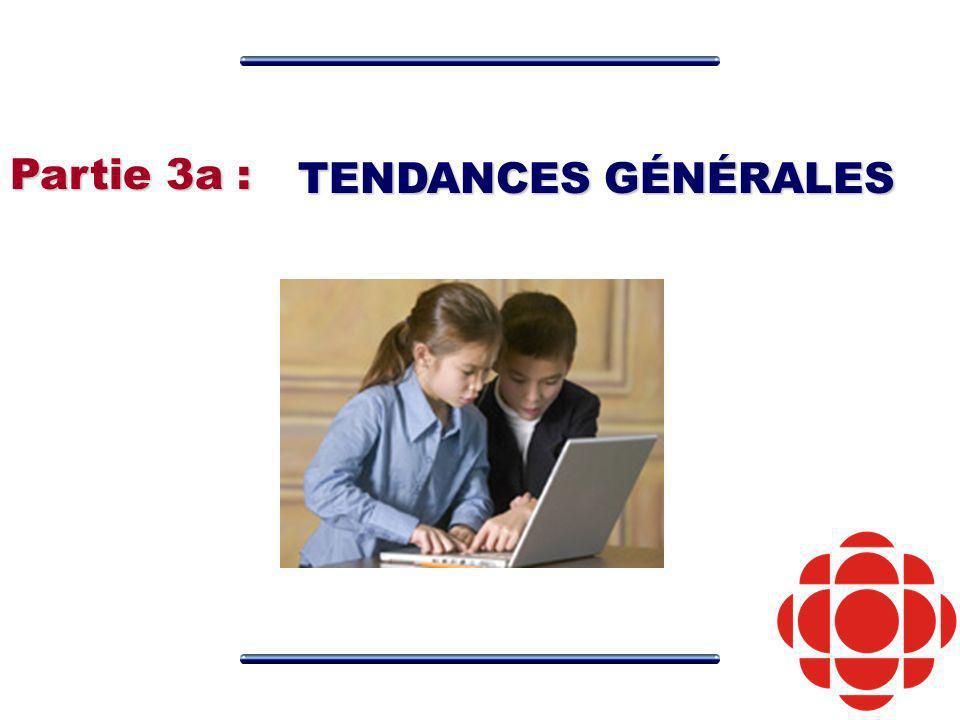 TENDANCES GÉNÉRALES Partie 3a :