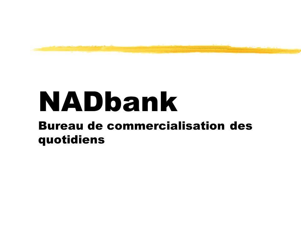 NADbank Bureau de commercialisation des quotidiens