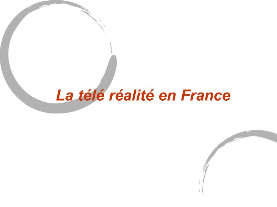 La télé réalité en France