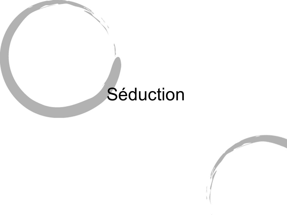 Séduction
