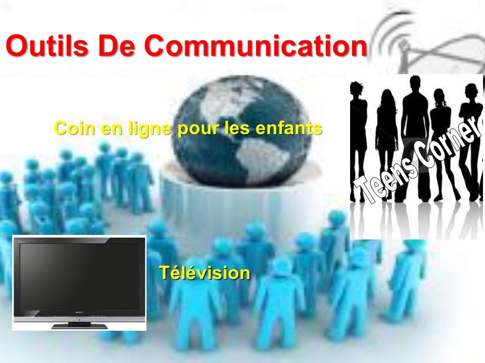 Outils De Communication Coin en ligne pour les enfants Télévision