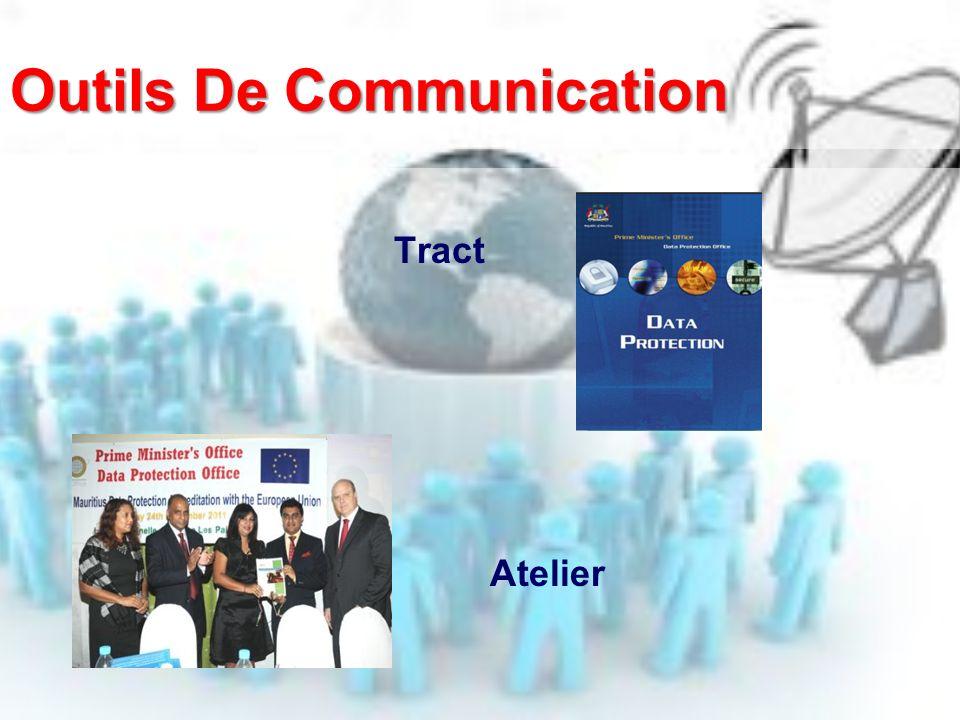 Outils De Communication Tract Atelier