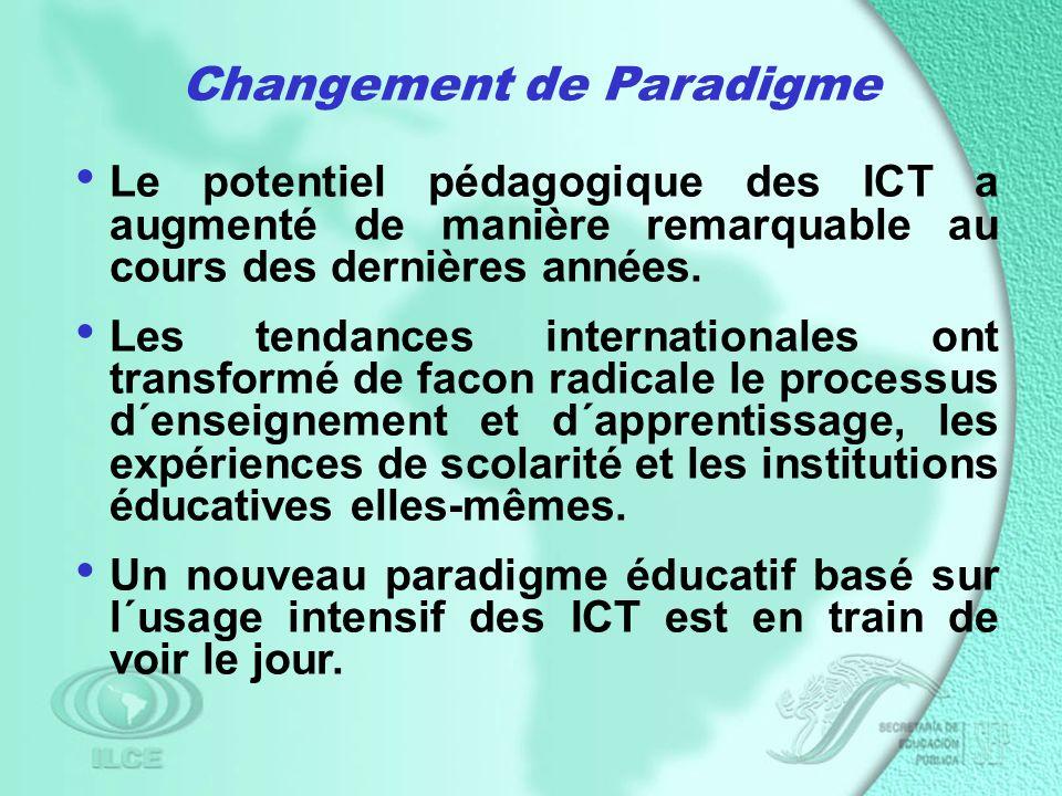 Le potentiel pédagogique des ICT a augmenté de manière remarquable au cours des dernières années.