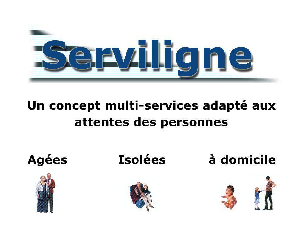 Les principes fondateurs du concept multi-services Qui favorise une évaluation des besoins par un regard global sur la personne….