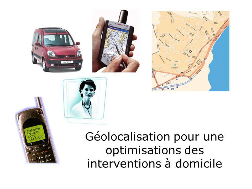 Géolocalisation pour une optimisations des interventions à domicile
