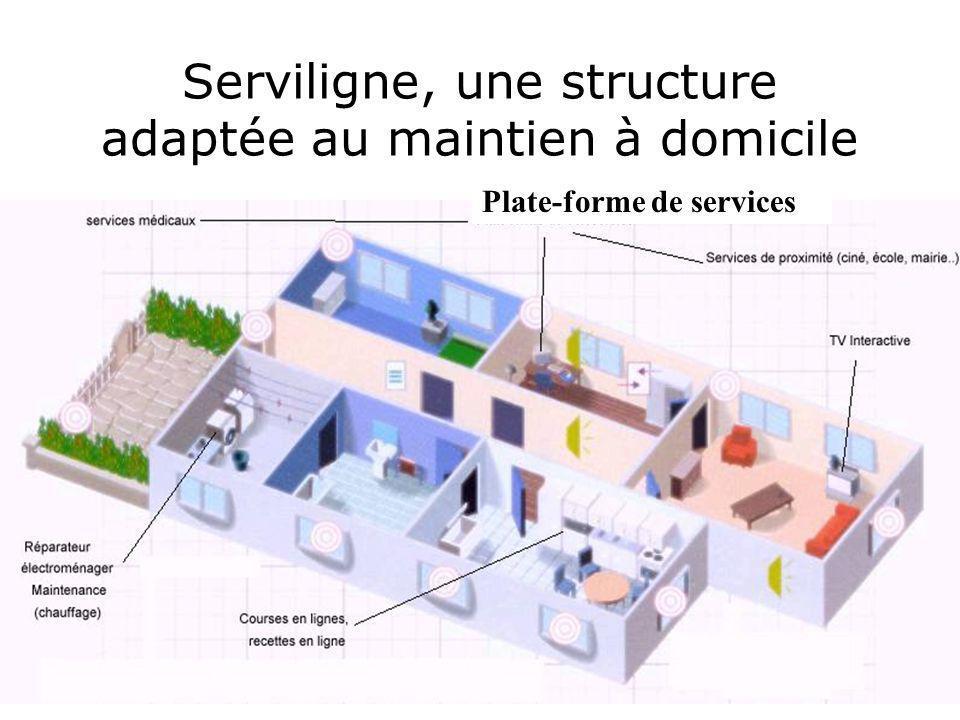 Serviligne, une structure adaptée au maintien à domicile Plate-forme de services