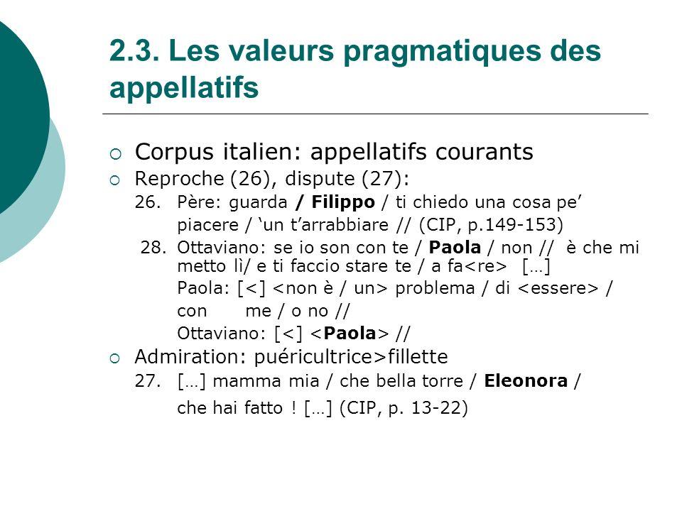 3.Conclusion: différences a.
