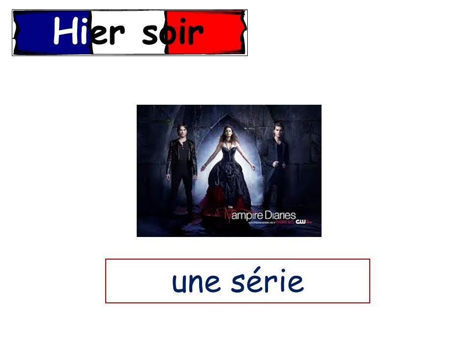 Some of you will be able to explain how the past tense in formed in French, creating sentences in the past, possibly including adjectives (L5) Most of you will be able to offer an example of one TV show you like in French, using the past tense All of you will be able to recognise AT LEAST 5 genres of TV show in French (L1) Success Criteria
