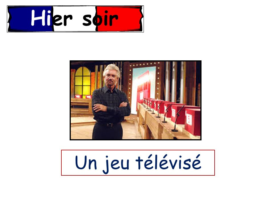 Les Devoirs Write a passage about what you like to watch on television and why.