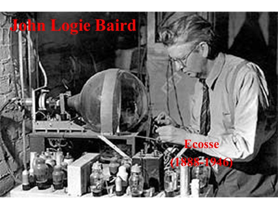 John Logie Baird Ecosse (1888-1946)
