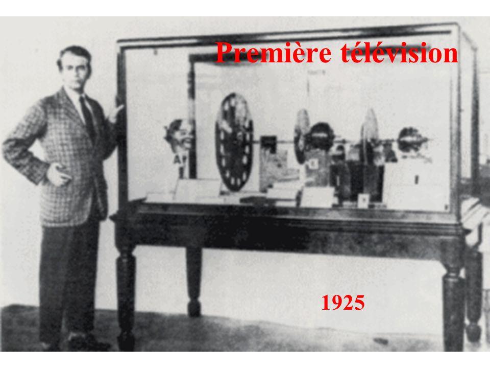 Première télévision 1925