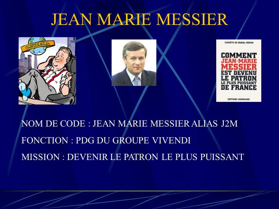 PIERRE LESCURE NOM DE CODE : PIERRE LESCURE FONCTION : PDG DU GROUPE CANAL + MISSION : FAIRE DE CANAL + LE NUMBER ONE