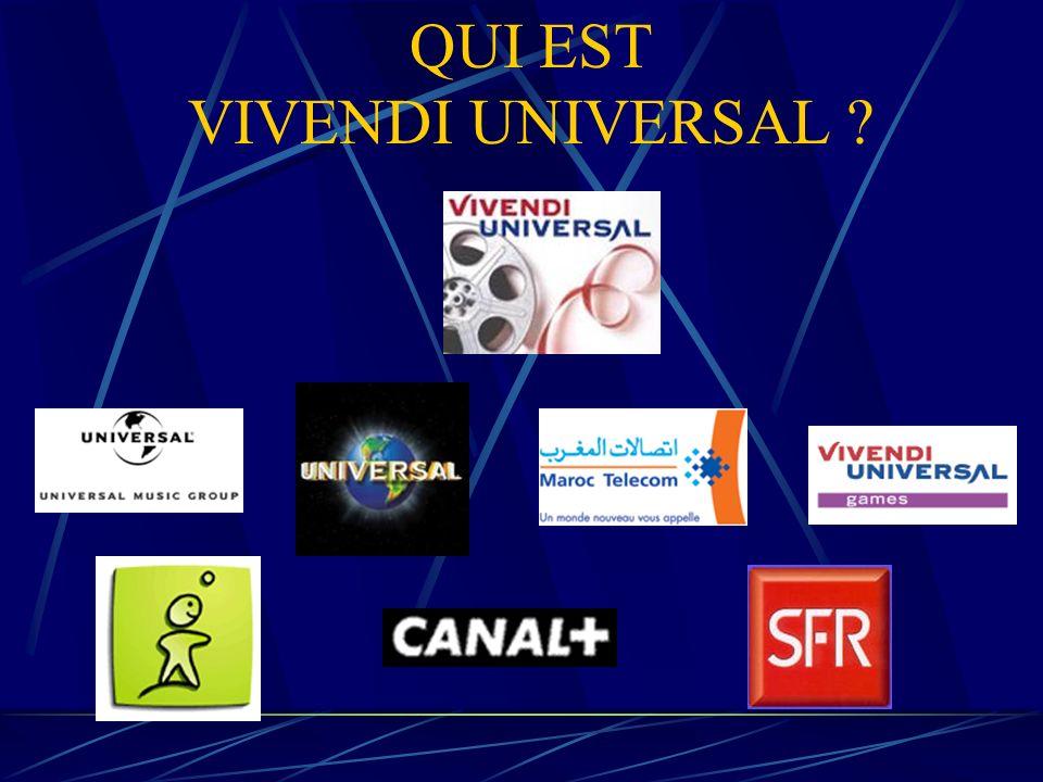 QUI EST VIVENDI UNIVERSAL ?