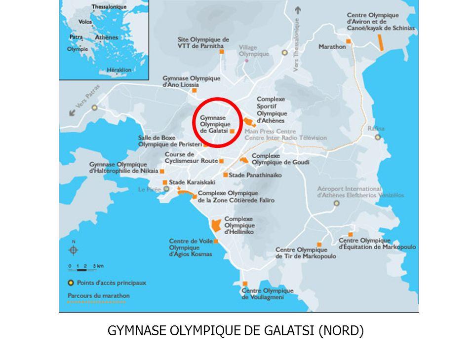 GYMNASE OLYMPIQUE DE GALATSI (NORD)