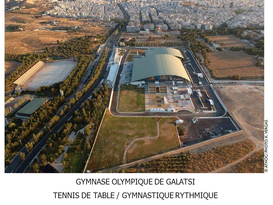 GYMNASE OLYMPIQUE DE GALATSI TENNIS DE TABLE / GYMNASTIQUE RYTHMIQUE