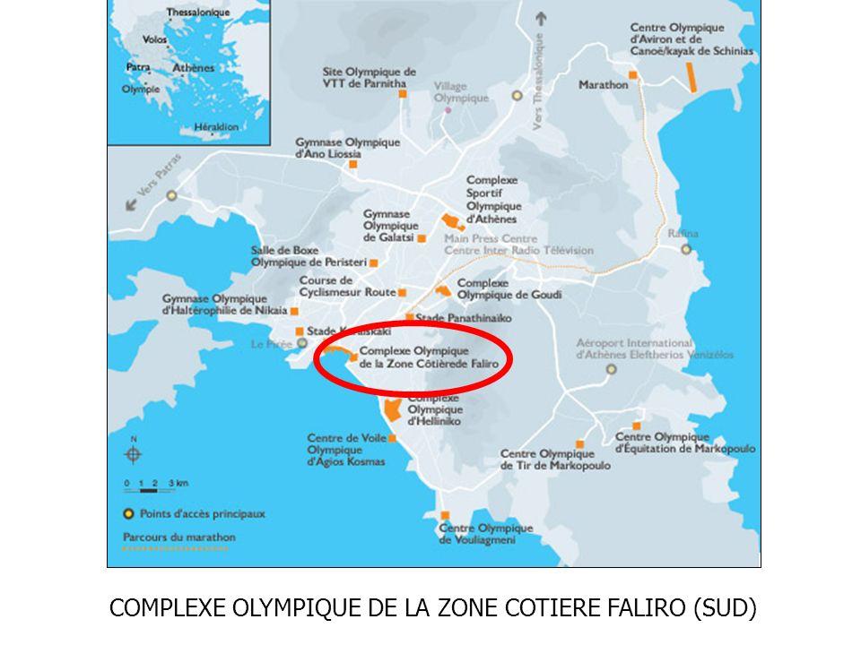 COMPLEXE OLYMPIQUE DE LA ZONE COTIERE FALIRO (SUD)