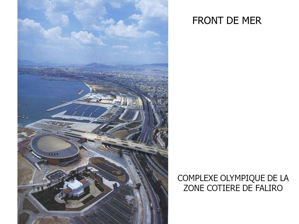 FRONT DE MER COMPLEXE OLYMPIQUE DE LA ZONE COTIERE DE FALIRO