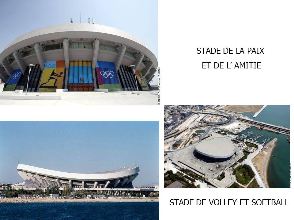STADE DE LA PAIX ET DE L AMITIE STADE DE VOLLEY ET SOFTBALL