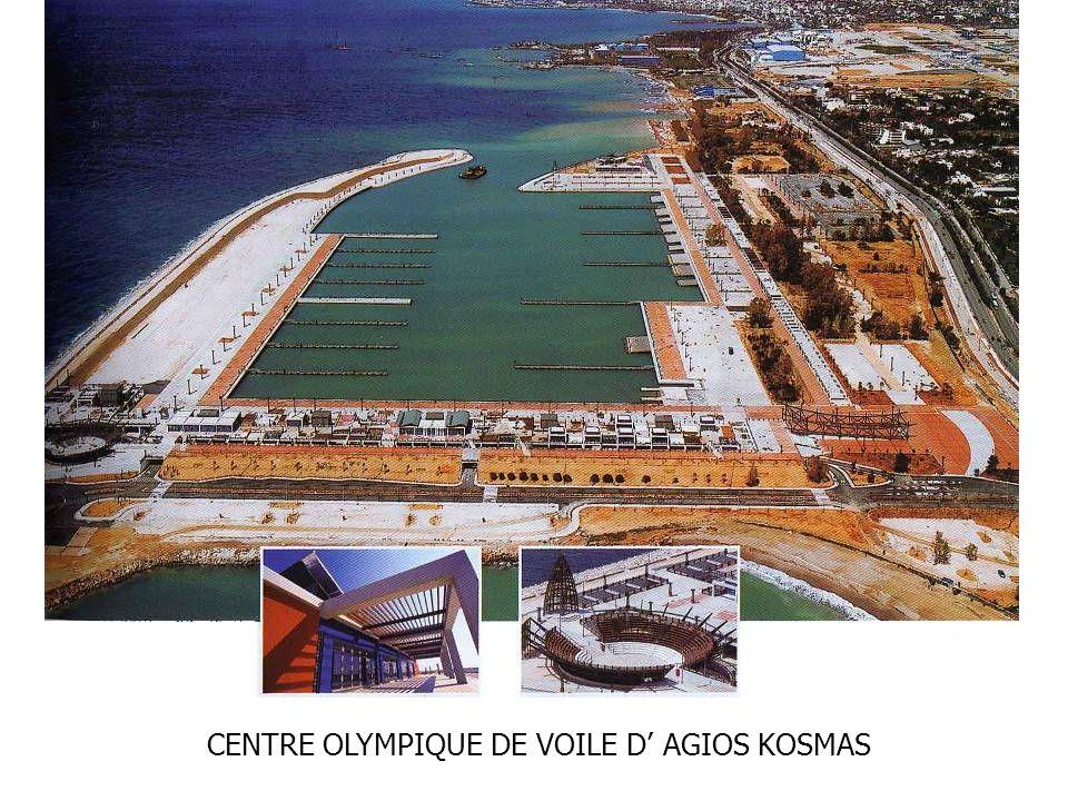 CENTRE OLYMPIQUE DE VOILE D AGIOS KOSMAS