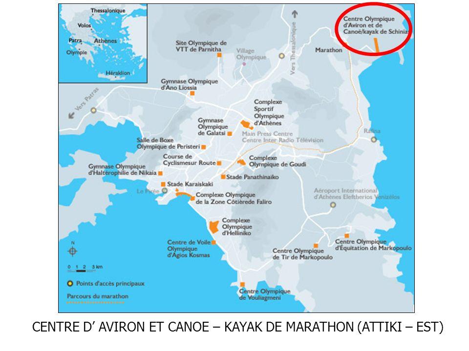 CENTRE D AVIRON ET CANOE – KAYAK DE MARATHON (ATTIKI – EST)