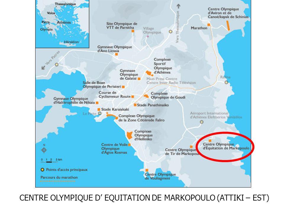 CENTRE OLYMPIQUE D EQUITATION DE MARKOPOULO (ATTIKI – EST)