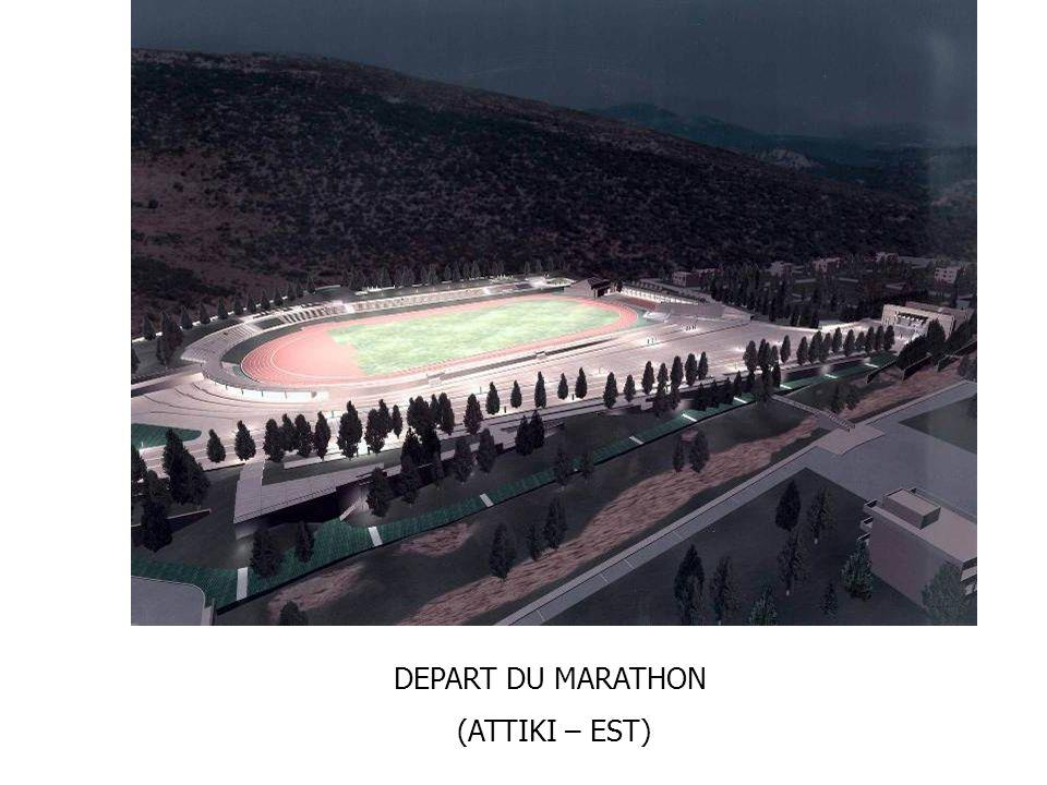 DEPART DU MARATHON (ATTIKI – EST)