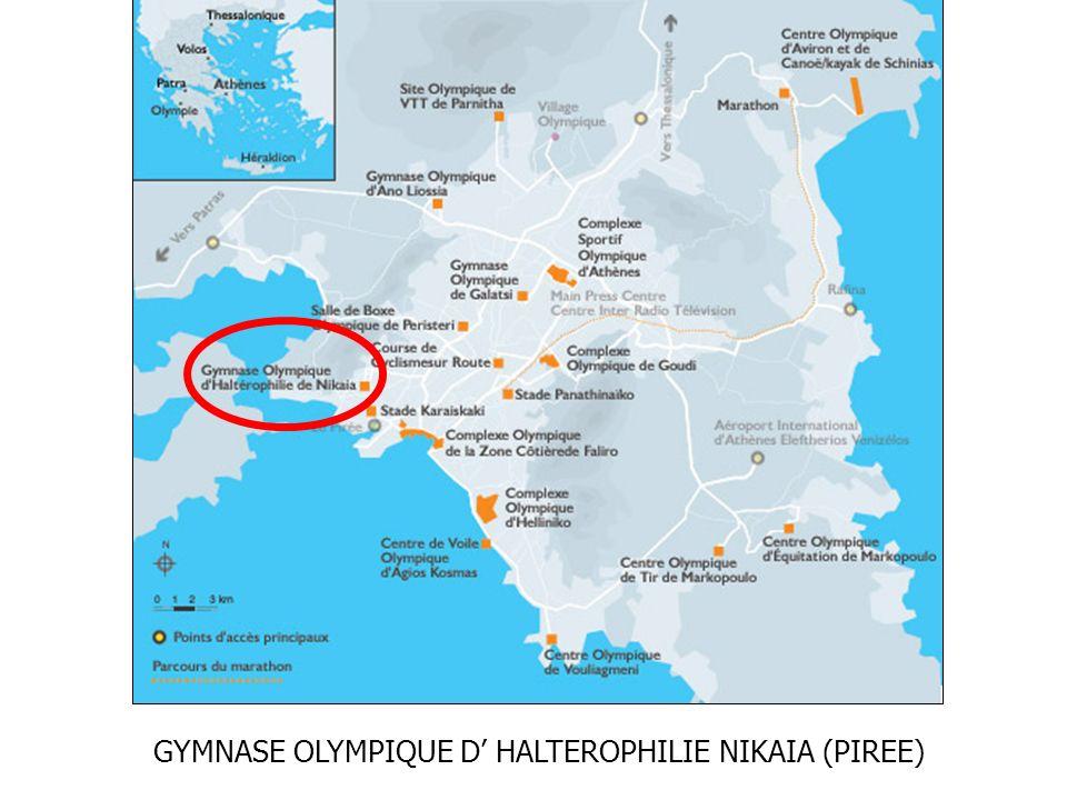 GYMNASE OLYMPIQUE D HALTEROPHILIE NIKAIA (PIREE)