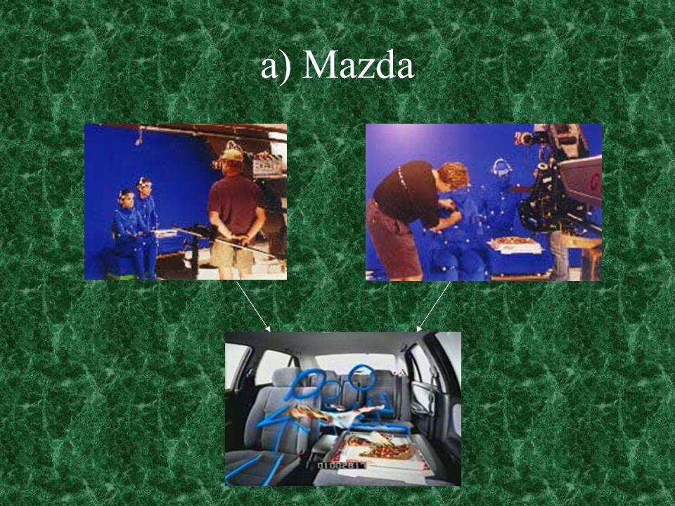 a) Mazda