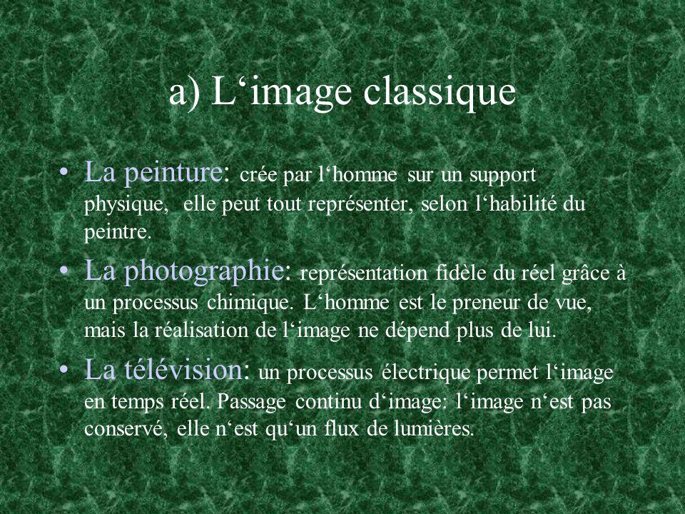 b) Limage numérique Une image numérique nest quun tableau de nombres.