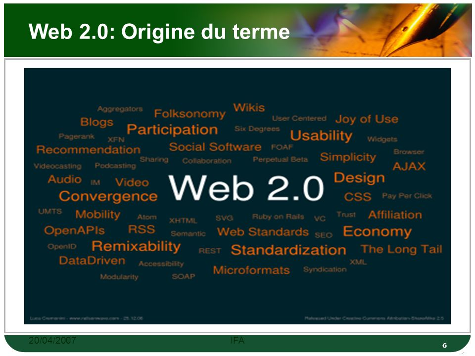 20/04/2007IFA 46 Définitions Une image numérique est composée de pixels.