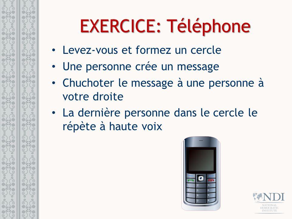 STRATEGIE DE COMMUNICATIONS Quel est votre principal message .