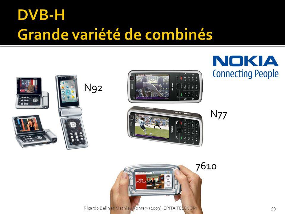 N77 7610 N92 59Ricardo Belin et Mathieu Romary (2009), EPITA TELECOM