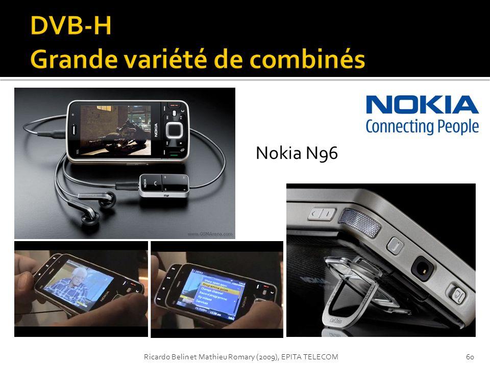 Nokia N96 60Ricardo Belin et Mathieu Romary (2009), EPITA TELECOM